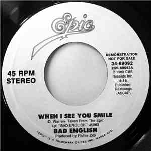 Bad English - When I See You Smile download