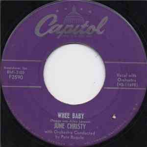 June Christy - Whee Baby / Not I download