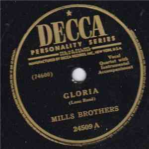 Mills Brothers - Gloria / I Want To Be The Only One download